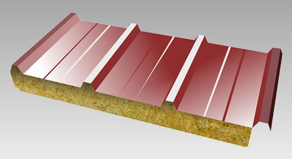 Roof Panel - Mineral Fiber Insulated