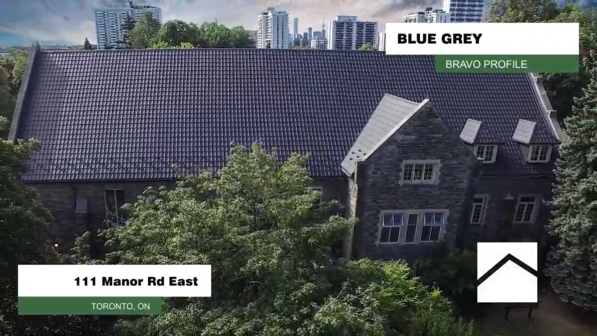 111 Manor Road Toronto Ontario BRAVO Profile Blue Grey Colour
