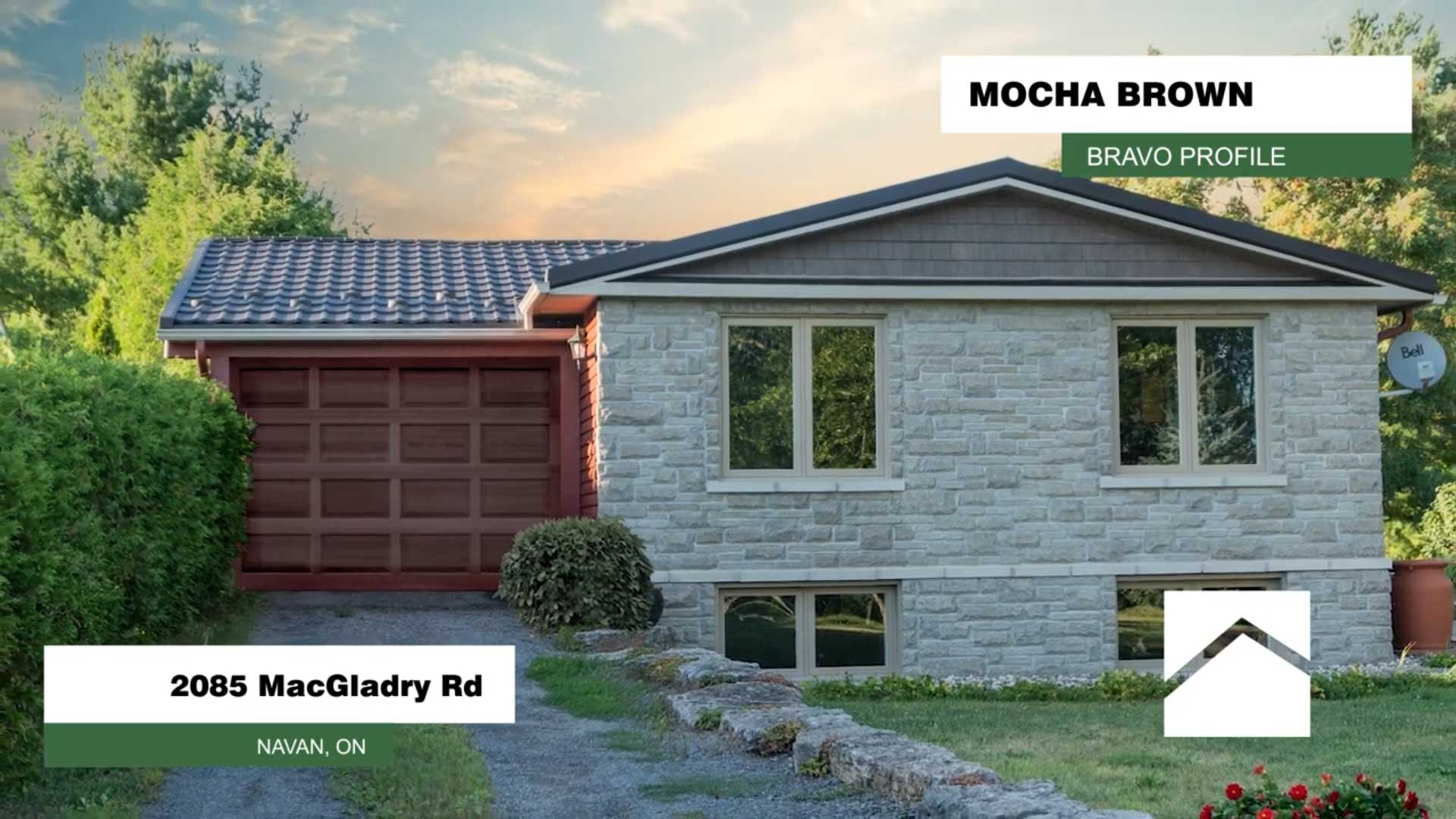 2085 Macgladry Road Navan Ontario BRAVO Profile Mocha Brown Colour