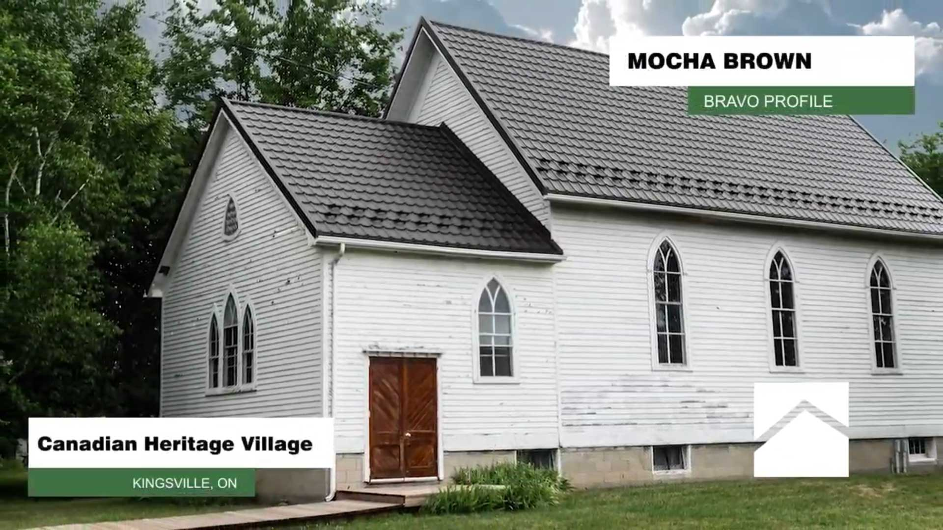 Canadian Heritage Village Kingsville Ontario Bravo Profile Mocha Brown Colour